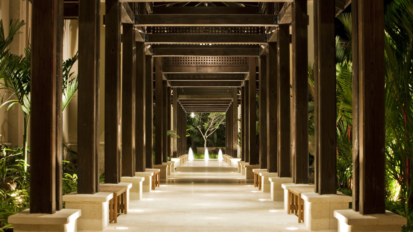 The St. Regis Bahia Beach - Conference Center Walkway