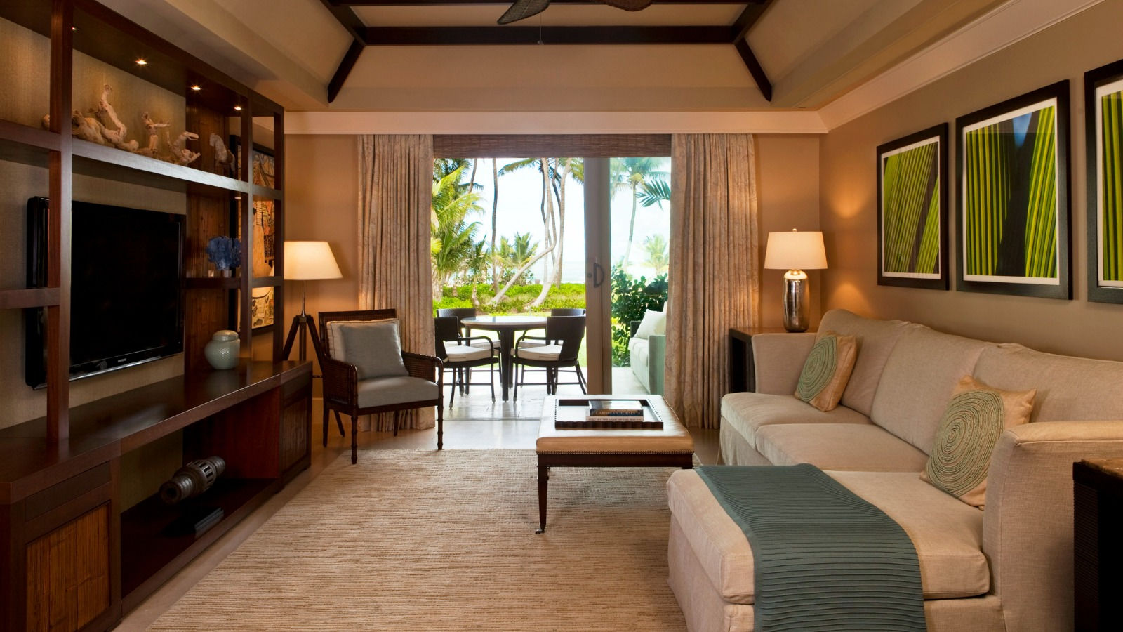 Oceanfront room the st regis bahia beach resort puerto for Living room suites for sale